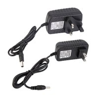 Wholesale New Universal AC V US EU UK Plug For DC V A W Power Supply Adapter Charger For LED Strips CCTV Security Camera