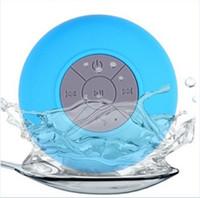 Cheap New Waterproof Speaker Wireless Shower Handsfree Bluetooth Speakers Car Waterproof Portable mini MP3 Super Bass Receive Call & Music In BOX