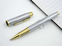 Wholesale Parker IM Stainless Golden Arrow Clip m Nib Parker Roller ball Pen