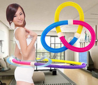 Wholesale High quality Spring Healty Diet Hula Hoop Weighted Hula Hoops