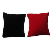 Wholesale 10Pcs Velvet Pillow Cushion Bracelet Watch Jewelry Display Holder Showcase C00010 SMAD