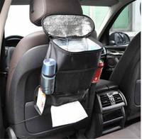 auto seat warmer - Universal Auto Back Car Seat Heat Preservation Organizer Holder Keep Warm Multi Pocket Travel Storage Hanging Bag