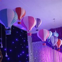 air decors - Hot Air Balloon Paper Lantern Wedding Party Birthday Garden Decor Inch Funny Party Supplies Kids Gift Craft