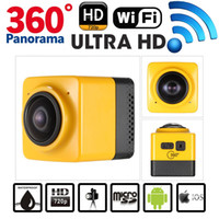 Wholesale CUBE Mini Sports Action Camera Degree Panoramic VR Camera For Extreme Sport Car Video