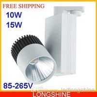 Wholesale 10W W COB High Quality Clothing Store LED Track Lights LED Spot Lighting White Light V