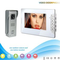 Wholesale Free DHL XSL V70E M3 V1 XINSILU Manufacturer HOT Sale quot Handfree Video Door Phone Intercom System With Wires