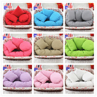 Wholesale Baby photographed photography props studio props colorful pillow for newborn baby boys girls round rectangle pillows set
