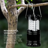 Wholesale LED Camping Light Pack Portable Outdoor LED Camping Lantern Night Light Led Lights Light Up the Evening Sky