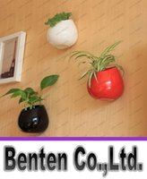 garden pot holder - Ceramic flower pots planters decorative vases wall hanging vase ceramic pot home decoration garden ornaments pen holder DIY pot