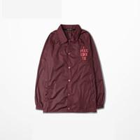 Wholesale 2016 Kanye West I Feel Like Pablo Season long sleeve Jacket brand clothing hip hop coat homme sportswear overcoat