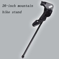 bicycle stand design - New Design MTB Bicycle Bike Kickstand Parking Rack MTB Mountain Bike Support Side Kick Stand Foot Brace26 Inch
