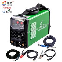 Wholesale Portable Tig Welder Inverter Weld in1 Welding Machine Plasma Cutter CT520 TIG MMA CUT Multi use Machine Kaynak Makinesi Black