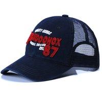 active craft - Baseball cap net cap boom cotton carefully crafted embroidery cap man and women cap summer style net cap