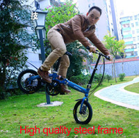 Wholesale Stock In USA Shimano speed folding bicycle Lightweight inch speed folding bike High quality portable Mini folding sport bicycle