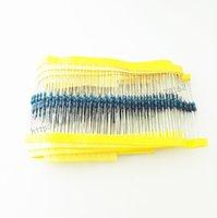 Wholesale-1000pcs / lot 1/4 W 1% 0,5 ohmios 0,25 W Resistencia película metálica 0.5 R resistencia de envío libre