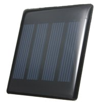 Wholesale High quality W V mAh Polycrystalline Silicon Epoxy Solar Panel DIY powered models Mini Solar Cells Battery Phone charger