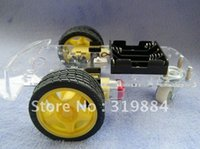 Wholesale New Smart Robot Car Kits with Speed encoder Battery Box fit for Ar duino