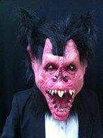 ball hood latex - Batman Halloween Mask Ball Hood Cosplay Devil Latex MasksCarnaval party Mask