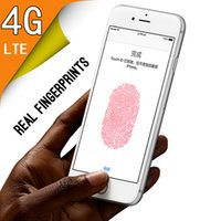 Wholesale 64 Bit Goophone i6s Plus G Quad Core Touch ID RAM GB ROM GB MTK6735 Android MP