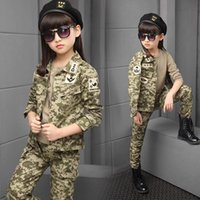 Wholesale Kids Airsoft Tactical Uniform Sets Teenager Army Clothing Autumn Winter Army Jacket Outdoor Hunting Clothing one set