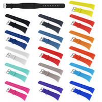 Engrenage S2 R720 Montre Silicon Rubber Band Montre bracelet 20mm Montre Bracelet Multi Couleurs de connexion facile pour Samsung VS Sangles Fitbit