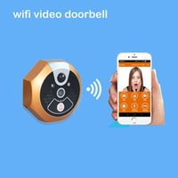 Wholesale Smart Video Doorbell Phone Alarm Video Recording with Photo Shooting Function Night Vision Anti Damage Support WiFi