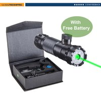 Wholesale Hunting Riflescope Green Dot Laser Sight Adjustable w Mounts Batteries