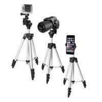Wholesale 40 quot Inch Aluminum Camera Tripod Universal Smartphone Holder Mount Bluetooth Wireless Remote Control Camera Shutter for iPhone s Plus