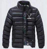 Wholesale Fall New winter jacket men warm down cotton jacket casual solid warm winter coat men ultralight down cotton parka windproof