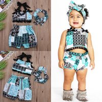 band shirt lot - pieces Newborn Baby Girl Tops T shirt Shorts Pants Head Band Outfits Set Clothes M