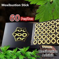 acupuncture moxibustion - Hot Moxibustion meridians Self adhesive acupuncture points sticker Moxibustion stick moxibustion natural health care meridians sticker