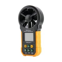 air quality tester - High Quality LCD Digital Anemometer Wind Speed Meter Air Flow Tester Backlight HYELEC Hot WOrldwide
