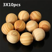 Wholesale moistureproof Fragrance pure Natural Sandalwood Fragrant Moth Balls Wood Fresh Air Ball Flavor For Home Wardrobe Closet