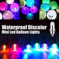 Wholesale Waterproof Led Ballon Light Submersible Light Party Light for Paper Lanterns LED Mini Light Floral Bulb for Party