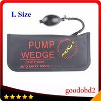 Wholesale Large Size Over kg KLOM Pump Wedge Locksmith Tools Auto Air Wedge Lock Pick Open Car Door Lock CM for Car Window Door