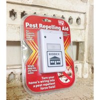 Wholesale 110v US PLUG RIDDEX Plus pest repeller Electronic Ultrasonic Pest Control cockroaches Spiders Rats Mice