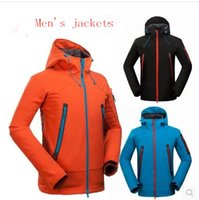 Wholesale Outdoor sports clothing brand waterproof windproof breathable soft shell hooded jackets Leisure Sports Camping Hiking S XXL
