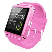 Wholesale Bluetooth Smart Watches U8 U Watch SmartWatch Sport Touch screen WristWatch For IPhone Samsung S4 Note HTC LG Huawei Xiaomi Mobile Phone