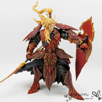 action game online - Hot Online Game BLOOD ELF PALADIN QUIN THALAN SUNFIRE Action Figure Collectable Toy