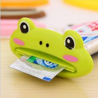 Wholesale 1pcs Cute Animal multifunction squeezer toothpaste squeezer Home Commodity Bathroom Tube Cartoon Toothpaste Dispenser