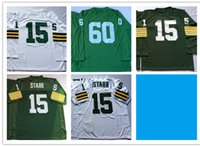 bart starr jersey cheap - Throwback Classic Men Short Sport Jersey Cheap Best Quality Retro Bart Starr Blank Name Jerseys Stitched Embroidery Name