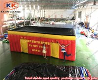 automatic commercial doors - Commercial inflatable fire fighting drill tent for school earthquake fire disaster escape use