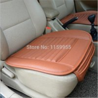Wholesale car supplies Car seat covers summer premium car seat cushion bamboo charcoal leather monolithic reiz K5A4 A5 seat cushion