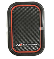 auto seat accessories - Anti Slip Sticky Pad For Seat Auto accessories Fit For Leon Ibiza FR Cupra Logo
