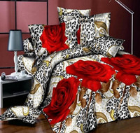 Wholesale New hot D bedding set king size bed linen include duvet cover bed sheet pillow cases reactive printing