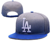 baseball media - New MLB LA Dodgers Sports Caps Medium Raised Embroidery Letter Adjustable Hats Structured Classic Baseball Caps YD