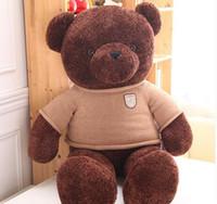 Cute peluche en peluche d'ours en peluche poupée de poupée de 40cm cadeau anniversaire de la Saint-Valentin pour envoyer des filles Livraison gratuite
