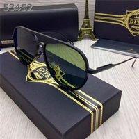 Vente en gros Meilleure qualité MenWomen DITA MACH ONE lunettes de soleil unisexe Dita UV400 lunettes de soleil lunettes Vintage Dita rétro avec étui original