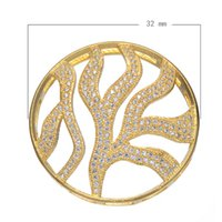 Wholesale 925 Silver Style Brass Connectors Cubic Zirconia Micro Inlay Seaweed Brass Plated More Colors For Choice mm