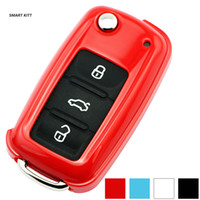 Wholesale ABS car key cover for Volkswagen POLO BORA LAVIDA TOURAN SAGITAR Tiguan Passat Golf BETTLE MK6 EOS Scirocco Jetta MK5 MK6 key case